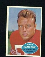 NMT 1960 Topps #119 Matt Hazeltine.