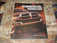 Original 2004 Dodge Truck Commercial Vehicles Deluxe Sales Brochure 04 ram
