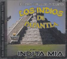 Los Indios De Papantla Indita Mia CD New Nuevo sealed Mario Valente