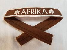 WWI WW2 German Luftwaffe AFRIKA cuff title patch Palm Trees DAK uniform insignia
