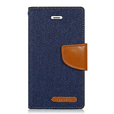 For LG X Power Leather Premium Wallet Case Pouch Flip Phone Cover Accessory