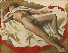 Tchelitchew Pavel Spahis Asleep Canvas 16 x 20  #8900