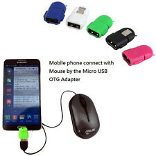 Micro USB 2.0 Host Male to USB Female OTG Adapter Android Tablet PC Phone