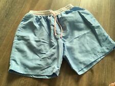 Ellsworth Toggery Nantucket Mens Size Small Blue & Pink Preppy Swim Board Shorts