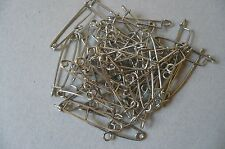 Brooch/Safety Pins for DIY Jewellery. (50)  Made in England. Vintage.