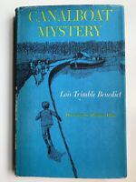 Canalboat Mystery by Lois Trimble Benedict, 1st Edit / 1st Print 1963, INSCRIBED