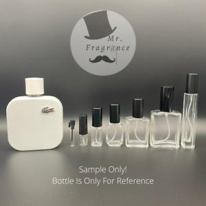 Lacoste Blanc Eau De Parfum L.12.12 (New Release) Premium Glass Atomizers