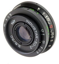 Lens Industar-50-2 3,5/ 50mm with adapters for Canon Nikon Sony Fuji