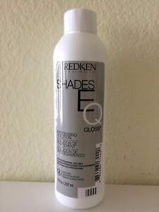 Redken Shades EQ Processing Solution Developer Shades Color Gloss 8oz NEW!