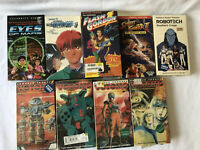 Japanese ANIME ANIMATION lot of 10Vintage VHS tapes