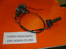 92 93 94 HONDA CR250R CR250 KEIHIN OEM CARB CARBURETOR TWIST THROTTLE