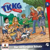 TKKG JUNIOR - 008/DER VERBORGENE SCHATZ   CD NEW