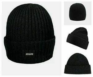 Hat Beanie Wool Winter Mens Chunky Thinsulate Warm Winter Wool Outdoor Chunky