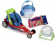 Habitrail Hamster Training Racing & Travel Dragster Transport Exercise Package