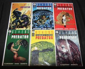 ALIEN VS PREDATOR COMIC SET/LOT 6PC