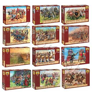 """Model Kits """"Warriors of Ancient World's Army, V BC - II AD"""" soldiers 1:72 Zvezda"""