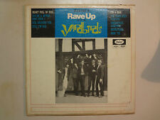 YARDBIRDS: Having A Rave Up With The Yardbirds-Canada LP Capitol T 6166 Mono PCV