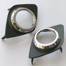 2009-2011 Toyota RAV4 Front Fog Light Lamp Cover Bezel Trim Pair