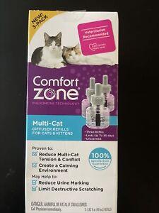Comfort Zone Multi-Cat Diffuser box of 3 Refills