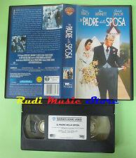 VHS film IL PADRE DELLA SPOSA Elizabeth Taylor Spencer Tracy WARNER (F82) no dvd
