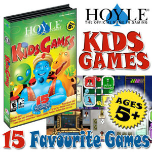 Hoyle Kids Games; 15 Favourite PC games on 1 CD Windows xp to 10; CD only; Age3+