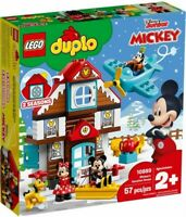 LEGO Duplo: Mickey's Vacation House (10889) Building Kit 57 Pcs