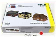TRIX 66301 Minitrix Spur N Bausatz 3 moderne Einfamilienhäuser  #NEU in OVP#