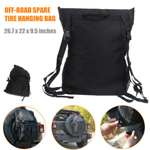 600D Car Off-road Tyre Hanging Bags Protector Spare Tire Storage Carry Package