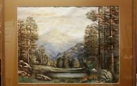 1951 M. Lewis signed painting