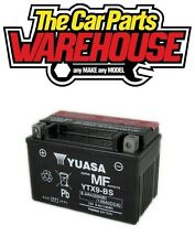 GENUINE YUASA YTX9-BS Bike & Quad BATTERY 8Ah 12V ACID GEL # Cheapest on Ebay #