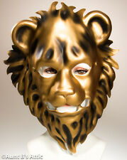 Mask Gold Lion Plastic Masquerade Face Mask