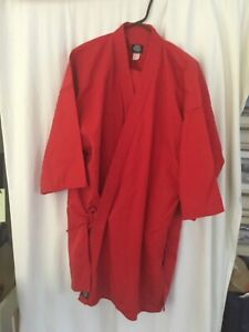 SY Kim Taekwondo Red Staff Uniform Olympic Sports Karate Martial Arts size 7
