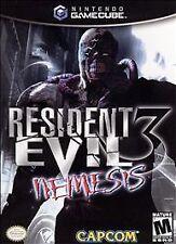 Resident Evil 3 Nemesis Nintendo Gamecube game only
