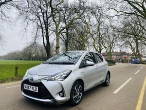 2017 Toyota Yaris 1.5 Hybrid Automatic Excel 5dr Petrol/Electric Silver