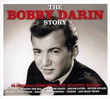THE BOBBY DARIN STORY - 75 ORIGINAL GEMS FROM THE ATLANTIC VAULTS (NEW  3CD)