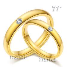 Cubic Zirconia 14k Engagement & Wedding Ring Sets