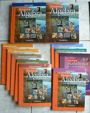 HUGE LOT - Key Curriculum Press ALGEBRA 2002 All new components (11) Math