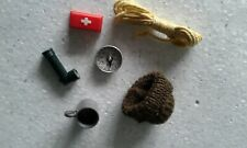 Vintage action man Original accessories/Escape from Colditz..