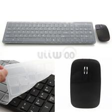 New Ultra-thin 2.4G 1600 DPI Multimedia Wireless Mouse + Keyboard Set US