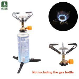 Gas Stove Portable Bottletop Butane Camp Stove Cook Burner BBQ