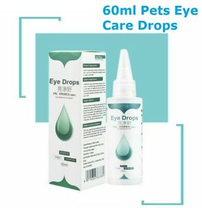 Pet Eye Drops For Conjunctivitis Caused By Allergies Or Foreign Bodies 60ml