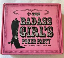 The Badass Girl's Poker Party Poker Kit With Book