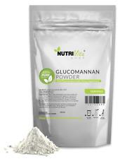 100% Pure Glucomannan Konjac Root Powder USP Weight Loss Fiber Diet nonGMO USA