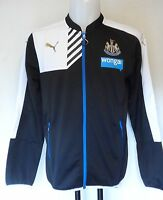 NEWCASTLE UNITED 2015/16 STADIUM JACKET BY PUMA SIZE MEDIUM BRAND NEW WITH TAGS