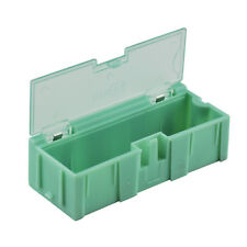 10pcs SMT SMD Kit anti-static Laboratory components storage boxes green new