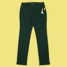 Straight Leg Coloured Low Rise Jeans for Women