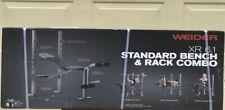 Weider XR 6.1 Multi-Position Weight Bench + Rack & Leg Developer FREE SHIPPING