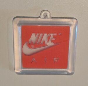 """Nike Air sneaker tag key chain keychain Michael """"Air"""" Jordan Chicago Bulls RARE"""
