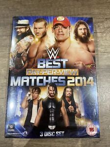 WWE: The Best PPV Matches Of 2014 3 disc set NEW SEALED DVD