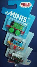 Thomas & Friends 3 pack MINIS CLASSIC PERCY ~ RACING THOMAS ~ SPOOKY EMILY NIB